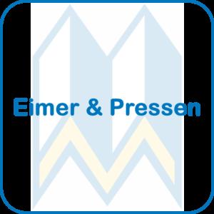 Eimer und Pressen