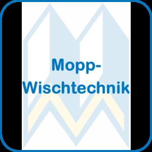 Mopp-Wischtechnik