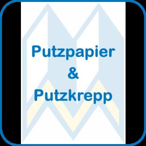 Putzpapier und Putzkrepp